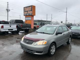 Used 2004 Toyota Corolla *AUTO*POWER WINDOWS*WOOD TRIM*ONLY 93KMS**AS IS for sale in London, ON