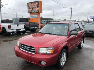 Used 2003 Subaru Forester XS**AUTO**BIG SUNROOF**ONLY 100KMS**ROOF RACK*CERT for sale in London, ON