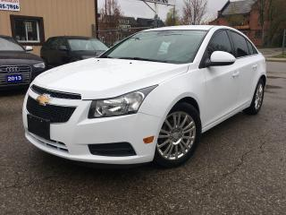 Used 2013 Chevrolet Cruze Eco for sale in Kitchener, ON