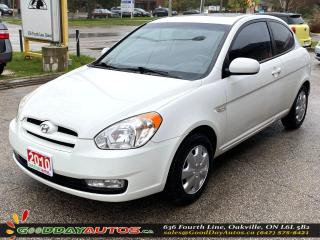 Used 2010 Hyundai Accent GL w/Sport Pkg|MANUAL|LOW KM|NO ACCIDENT|CERTIFIED for sale in Oakville, ON