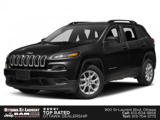 Used 2014 Jeep Cherokee Sport COLD WEATHER GROUP, REVERSE CAMERA, 5.0 TOUCHSCREEN for sale in Ottawa, ON