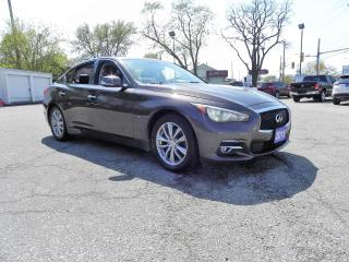 Used 2015 Infiniti Q50 SPORT AWD FULLY LOADED NO ACCIDENTS for sale in Windsor, ON