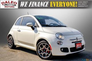 Used 2013 Fiat 500 SPORT / MANUAL / 4 PASSENGER / for sale in Hamilton, ON