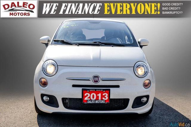 2013 Fiat 500 SPORT / MANUAL / 4 PASSENGER / Photo3