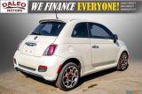 2013 Fiat 500 SPORT / MANUAL / 4 PASSENGER / Photo30