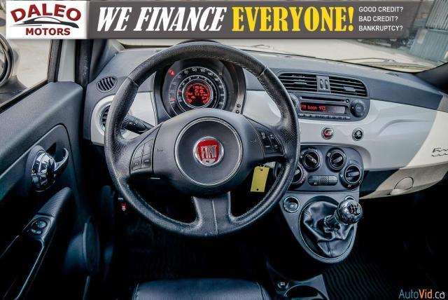 2013 Fiat 500 SPORT / MANUAL / 4 PASSENGER / Photo14