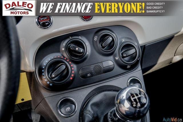 2013 Fiat 500 SPORT / MANUAL / 4 PASSENGER / Photo15
