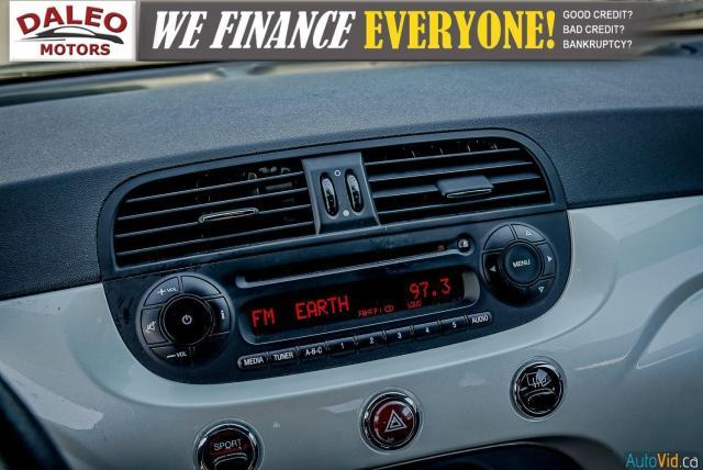 2013 Fiat 500 SPORT / MANUAL / 4 PASSENGER / Photo16