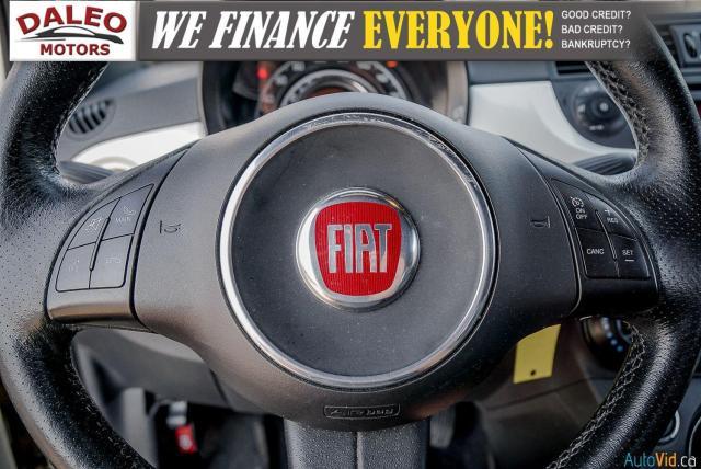 2013 Fiat 500 SPORT / MANUAL / 4 PASSENGER / Photo17