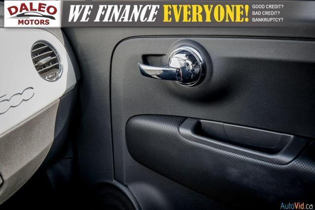 2013 Fiat 500 SPORT / MANUAL / 4 PASSENGER / Photo18