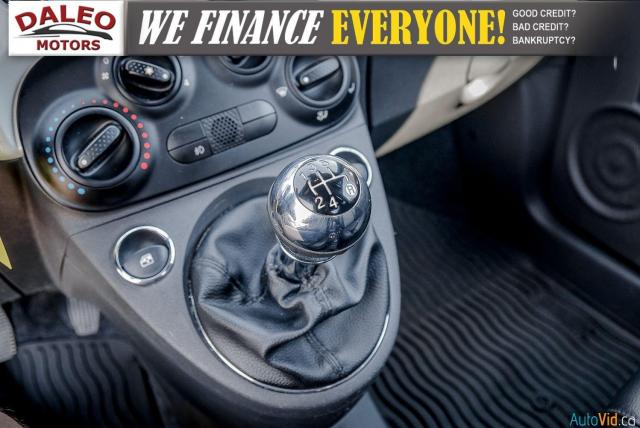 2013 Fiat 500 SPORT / MANUAL / 4 PASSENGER / Photo19