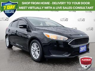 Used 2017 Ford Focus SE Auto Cloth/Alloy Wheels/Bluetooth for sale in St Thomas, ON