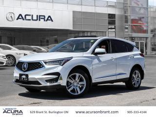 New 2021 Acura RDX Platinum Élite for sale in Burlington, ON