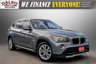 Used 2012 BMW X1 28i / PANO ROOF / HEATED SEATS / BLUETOOTH for sale in Hamilton, ON