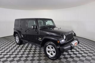 Used 2015 Jeep Wrangler Unlimited Sahara AUTO | 4X4 | HEATED SEATS | HARDTOP for sale in Huntsville, ON