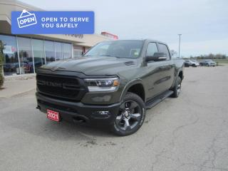 New 2021 RAM 1500 Big Horn Built To Serve for sale in Perth, ON