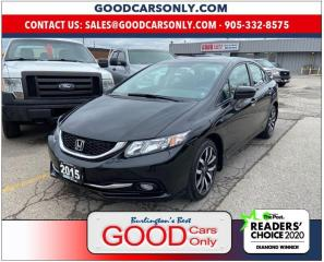 Used 2015 Honda Civic Touring for sale in Burlington, ON