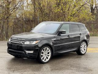 Used 2016 Land Rover Range Rover Sport Td6 HSE NAVIGATION/PANO ROOF/HUD/CAMERA for sale in North York, ON