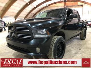 Used 2016 RAM 1500 SPORT CREW CAB 4WD for sale in Calgary, AB
