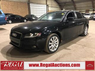 Used 2012 Audi A4 2.0T 4D Sedan Qtro AWD for sale in Calgary, AB