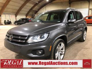 Used 2012 Volkswagen TIGUAN HIGHLINE 4D UTILITY AWD 2.0L for sale in Calgary, AB