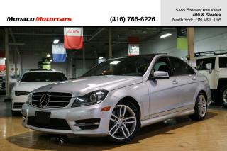 Used 2014 Mercedes-Benz C-Class C300 4MATIC - PANO|NAVI|BACKUP|BLINDSPOT|LANEKEEP for sale in North York, ON
