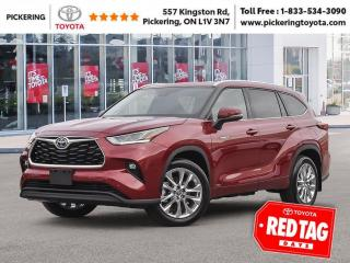 New 2021 Toyota Highlander HYBRID Limited AWD for sale in Pickering, ON