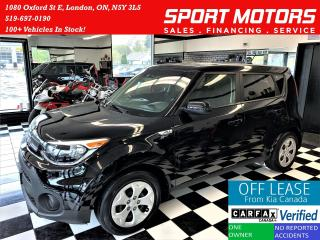 Used 2017 Kia Soul LX+A/C+New Tires+Bluetooth+ACCIDENT FREE for sale in London, ON