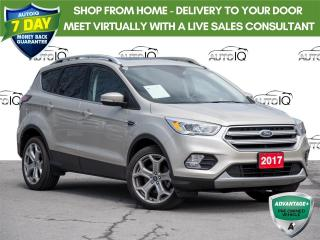 Used 2017 Ford Escape Titanium Panoramic Sunroof   |   Partial Leather Trim  |   Navigation   |   4 Wheel Drive for sale in St Catharines, ON