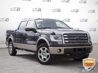 Used 2014 Ford F-150 King Ranch | NAVI | MOONROOF | HTD&VNTD SEATS | SUPERCREW | 4WD | for sale in Barrie, ON