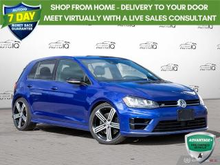 Used 2016 Volkswagen Golf R 2.0 TSI | 4MOTION | HTD SEATS | LEATHER | ALLOYS | for sale in Barrie, ON