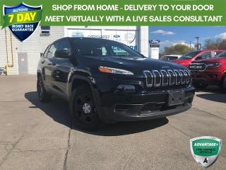Used 2017 Jeep Cherokee Sport 3.2L V6! ALL WHEEL DRIVE! CERTIFIED for sale in Hamilton, ON