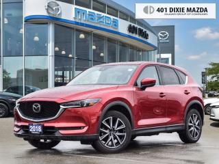 Used 2018 Mazda CX-5 GT 1.99% FINANCE AVAILABLE| ONE OWNER| NO ACCIDENT for sale in Mississauga, ON