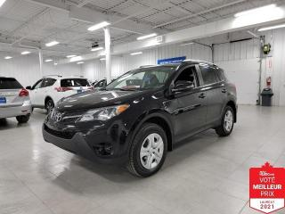 Used 2015 Toyota RAV4 LE - CAMERA + S. CHAUFFANTS + JAMAIS ACCIDENTE !!! for sale in Saint-Eustache, QC