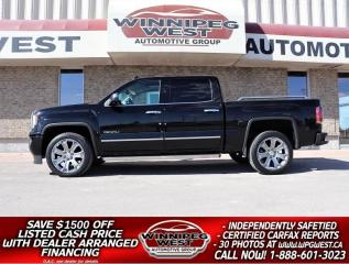 Used 2018 GMC Sierra 1500 DENALI ULTIMATE 6.2L V8 4x4, ALL OPTIONS, LOCAL!! for sale in Headingley, MB