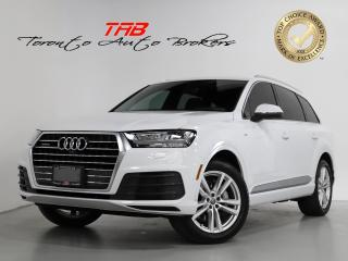 Used 2017 Audi Q7 3.0 TECHNIK I S-LINE I 7-PASS I 20 IN WHEELS for sale in Vaughan, ON