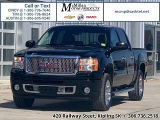 Used 2013 GMC Sierra 1500 Denali  6.2L V8,4X4,LOW KM,LEATHER,NAV,SUNROOF,ONE for sale in Kipling, SK