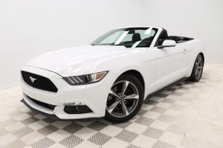 Used 2016 Ford Mustang *V6 *CONVERTIBLE *BLUETOOTH *COMME-NEUVE! for sale in Saint-Hubert, QC