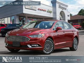 Used 2017 Ford Fusion SE | LEATHER | SUNROOF for sale in Niagara Falls, ON