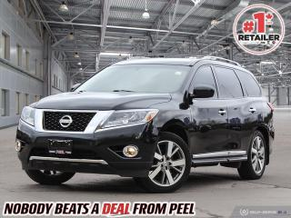 Used 2015 Nissan Pathfinder Platinum for sale in Mississauga, ON