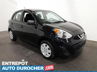 Used 2017 Nissan Micra ÉCONOMIQUE for sale in Laval, QC