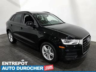 Used 2017 Audi Q3 Komfort - Toit Panoramique - Climatiseur -Cuir for sale in Laval, QC