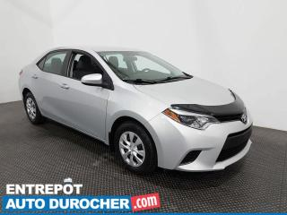 Used 2016 Toyota Corolla CE - Économique - Automatique - Bluetooth for sale in Laval, QC