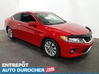 Used 2015 Honda Accord Coupe EX-L - Navigation - Toit Ouvrant - Climatiseur for sale in Laval, QC