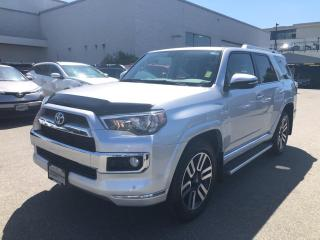 Used 2019 Toyota 4Runner Limited 5 Passenger, Certified for sale in North Vancouver, BC