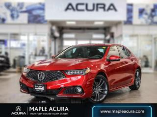 Used 2020 Acura TLX Elite A-Spec, One owner, Acura certified for sale in Maple, ON