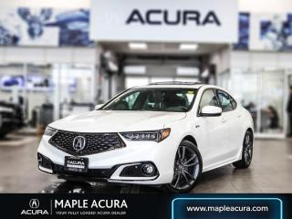 Used 2018 Acura TLX Elite A-Spec 1.99% up to 84 months financing for sale in Maple, ON