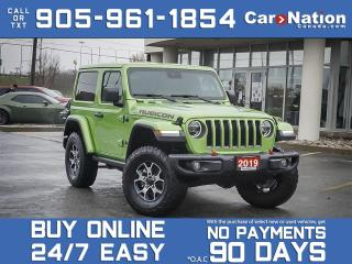 Used 2019 Jeep Wrangler Rubicon| LEATHER| NAV| BLIND SPOT| SAFETY TECH| for sale in Burlington, ON