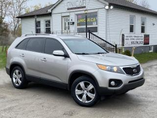 Used 2012 Kia Sorento No-Accidents AWD EX-Luxury Leather Backup Cam MINT for sale in Sutton, ON