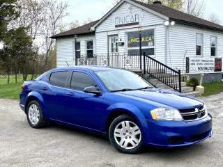 Used 2013 Dodge Avenger 1-Owner No-Accidents LOW KMS A/C Power Group Gas Saver for sale in Sutton, ON